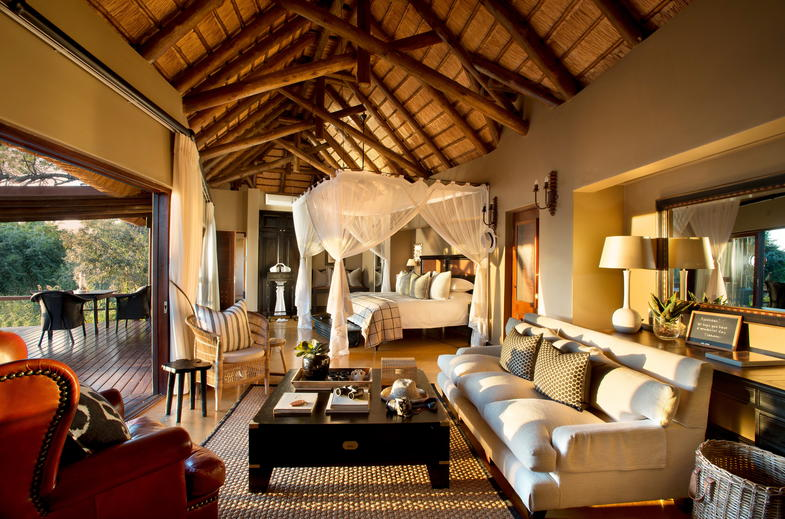 Elegant safari accommodation.