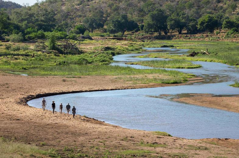 The Kruger National Park Walking Safari.